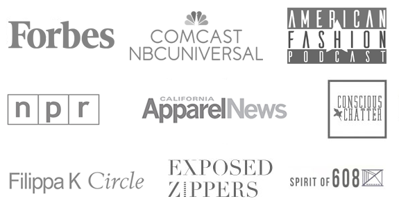 forbes, Expozed zippers, American Fashion Podcast